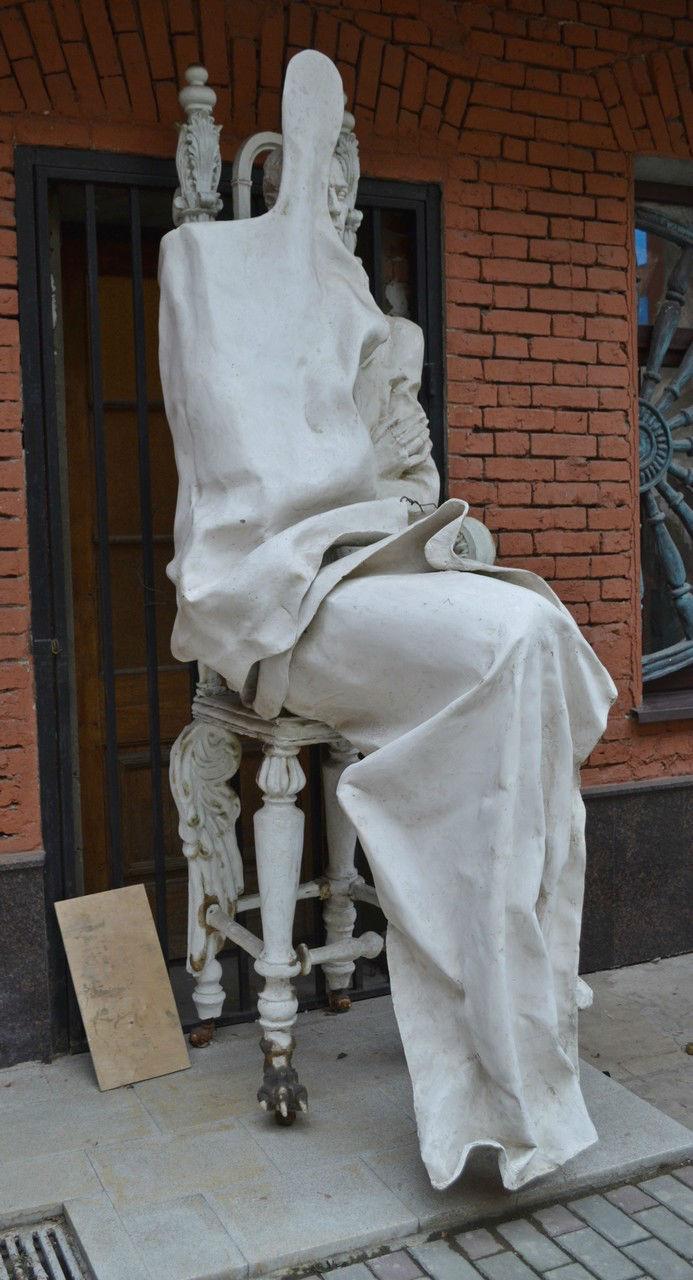 Эта скульптура мне очень