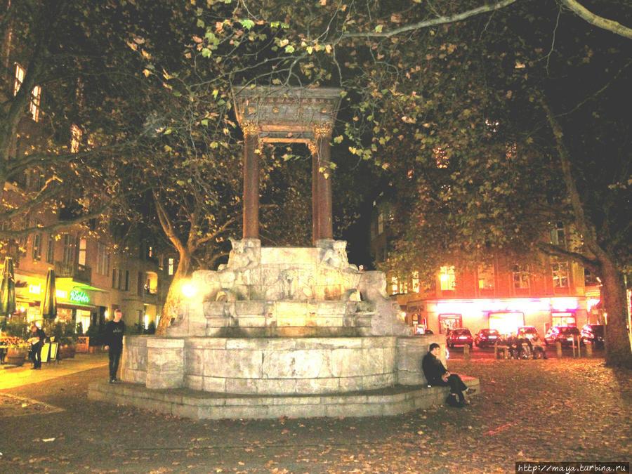 Фонтан без названия, быввший фонтан св. Георгия