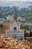Флоренция. Базилика Санта-Кроче