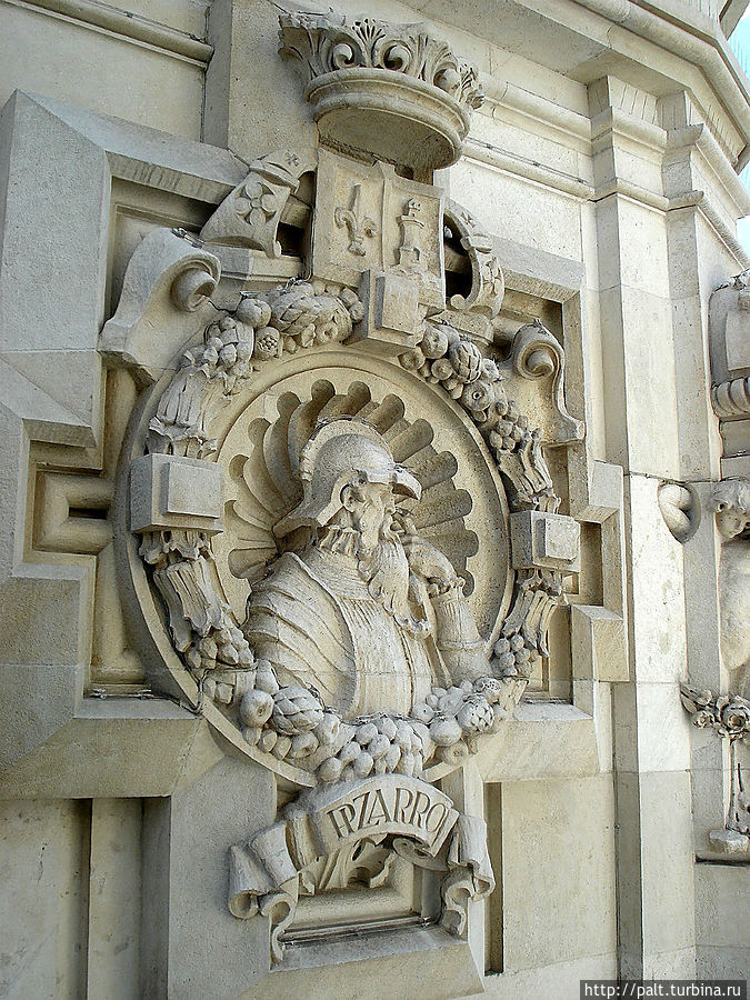 Украшение Дворца Сибелес
