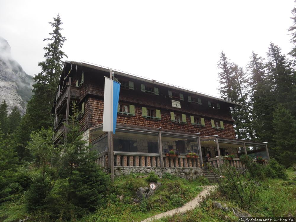 Высшая точка Германии в проекте Альпинистская Корона Европы Цугшпитце гора (2962м), Германия