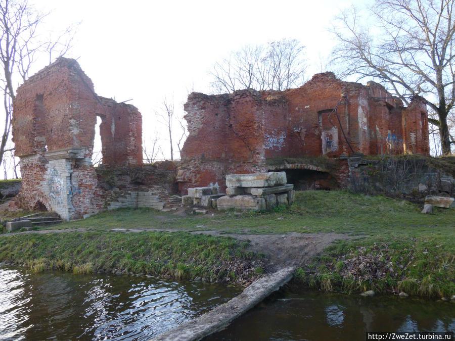 Руины Розового павильона