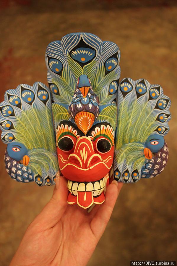 Мару Ракша-маска демона смерти