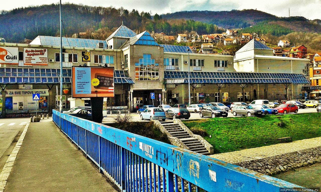 Автовокзал в Ужице