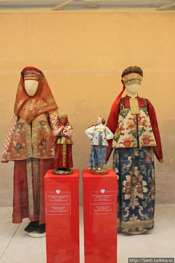 Вологодская и саратовская женщины