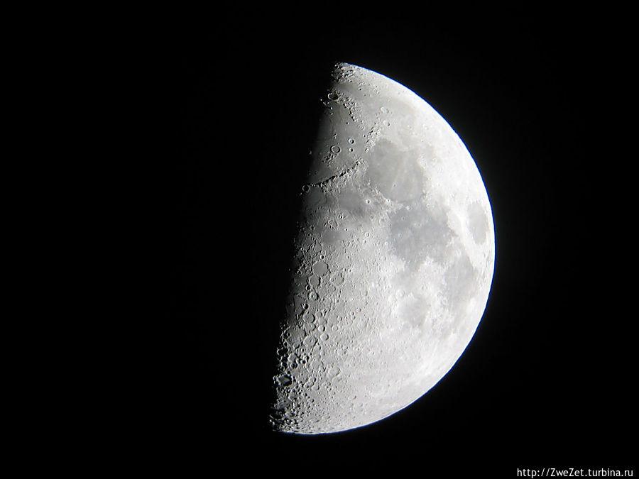 Такое фото можно сделать через окуляр телескопа