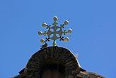 эфиопский восьмиконечный крест на церковью.