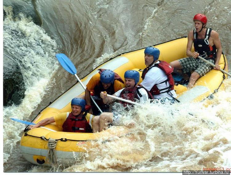 На реке Baron River тоже