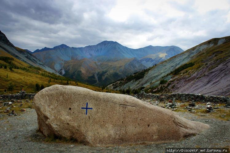 камень Рериха в долине Яр