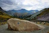 камень Рериха в долине Ярлу