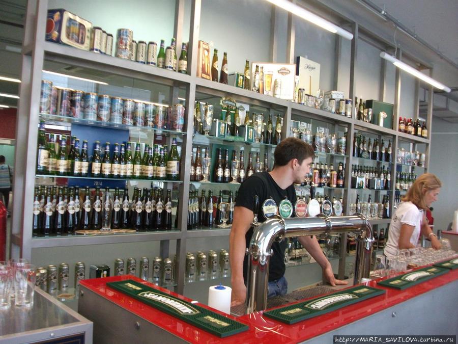 бар, где проходит дегустация