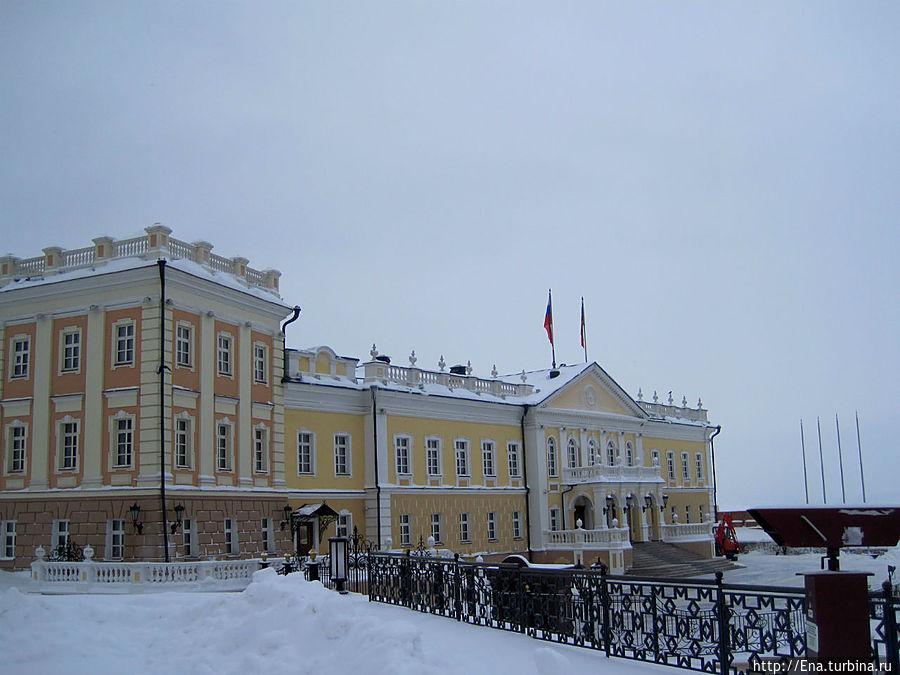 Постройки Казанского Кремля