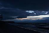 Внезапно Байкал накрылся свинцовыми тучами, и начался шторм