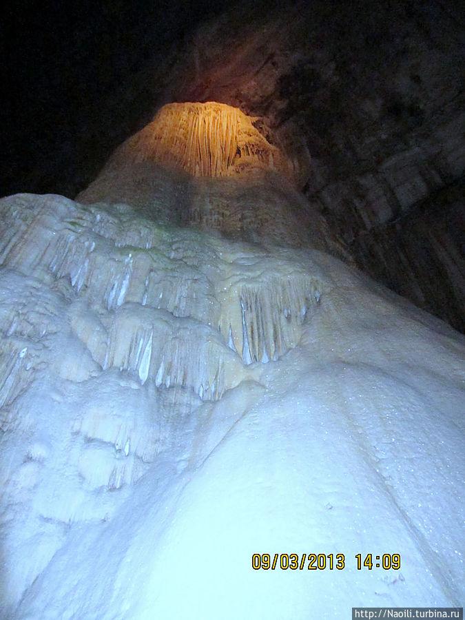 Ледяной водопад