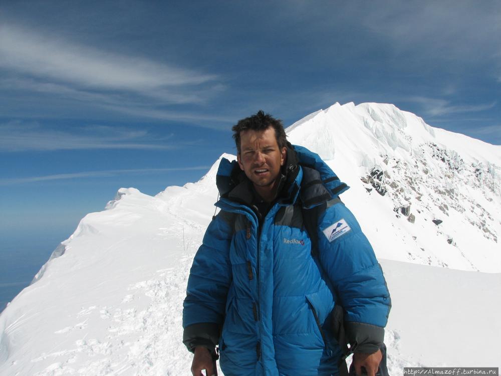 горный гид Андрей Гундаре