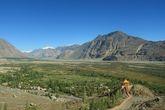Вид на долину Нубра