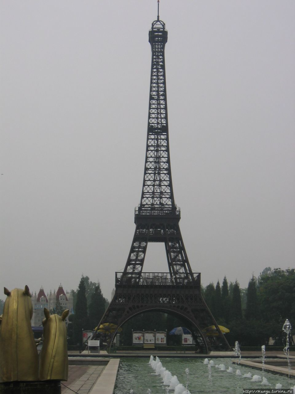 Пекин. Парк Миниатюр.Фран