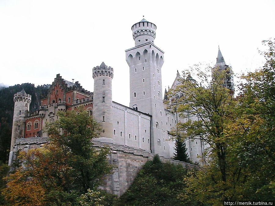 Баварские замки: Нойшванштайн и Хоэншвангау Фюссен, Германия