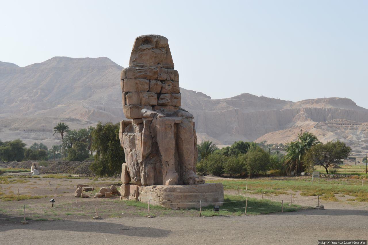 Теперь — за упокой! Луксор. Колоссы Мемнона Луксор, Египет
