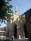 Вход в мечеть Селимие.