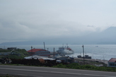 Южно — Курильск. Вид на бухту из окна гостиницы.