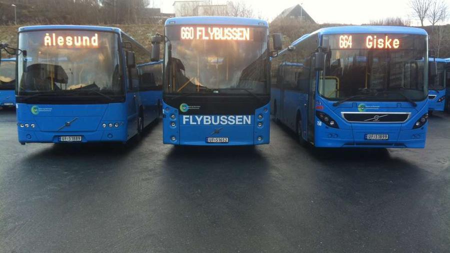 Модельный ряд городских автобусов представлен тремя видами Scania