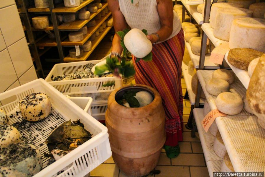 Пекорино-ди-Пиенца, там где запах сырррра!!! Тоскана, Италия