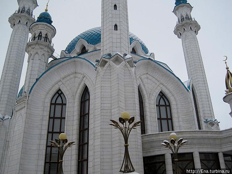 Мечеть Кул Шариф. Фрагмен