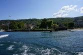 Вид на набережную Стрезы с катера