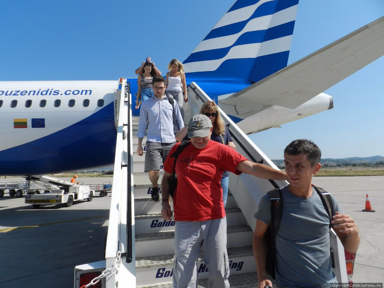 Вилла на море греция