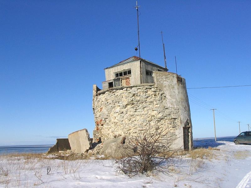 Остатки старого маяка