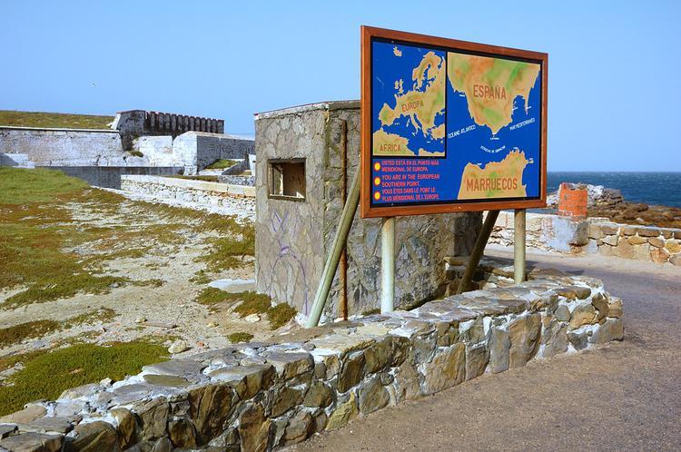 Схема Гибралтарского прол