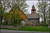 Старая церковь — Vanha kirkko на улице Alinenkatu. Это исторический памятник.