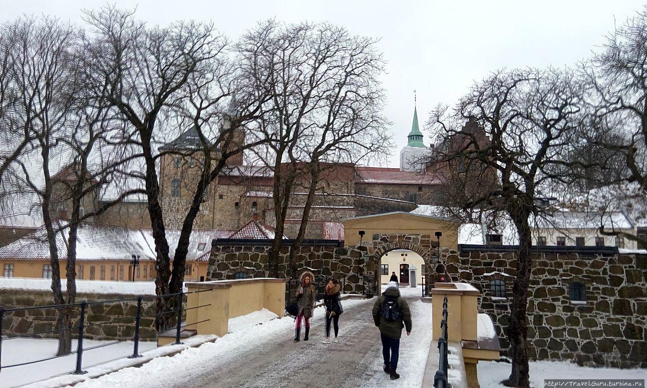 Замок Акерсхус Осло, Норвегия