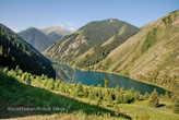 Первое Кольсайское озеро.
