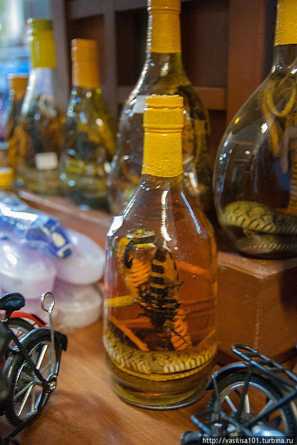 Сувениры в бутылках
