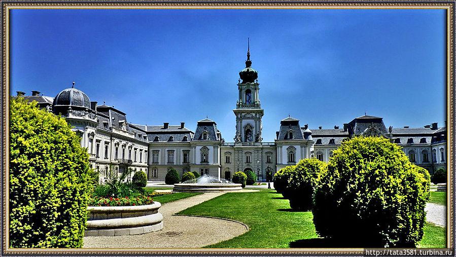 Дворец Фештетичей построенный в стиле барокко признан одним из красивейших в стране и представляет собой великолепную усадьбу, построенную в 1745 году – третью по величине во всей Венгрии. Кестхей, Венгрия