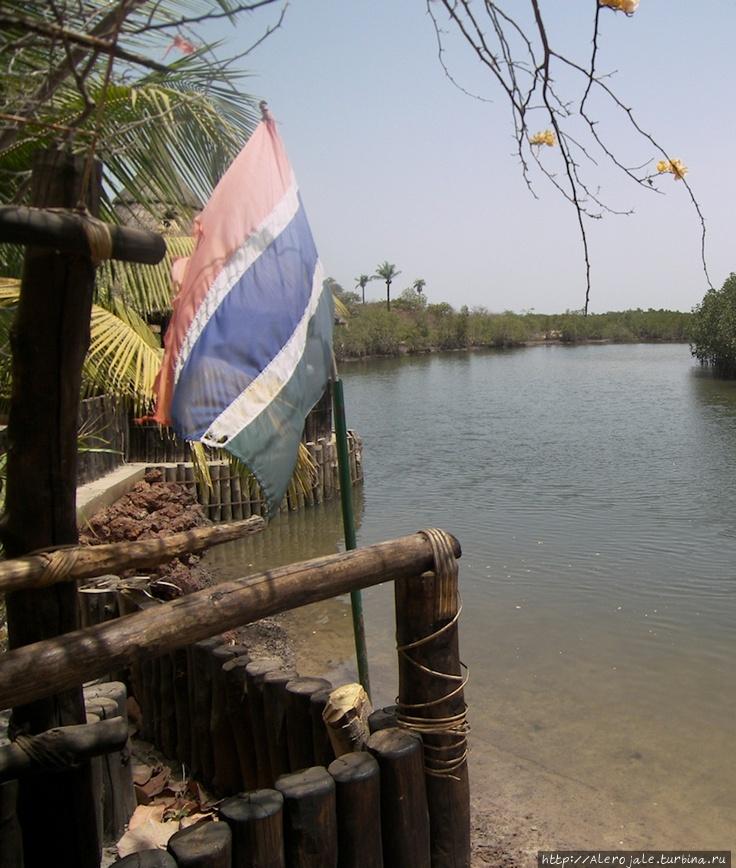 Путешествие по трассе вдоль реки Серекунда, Гамбия