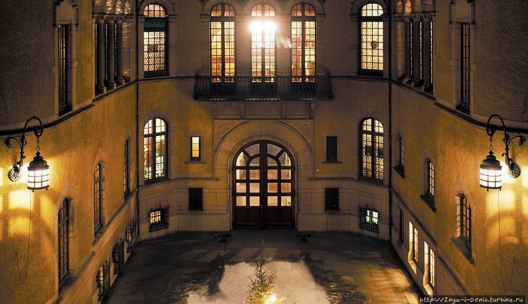 Внутренний дворик (фото из интернета)