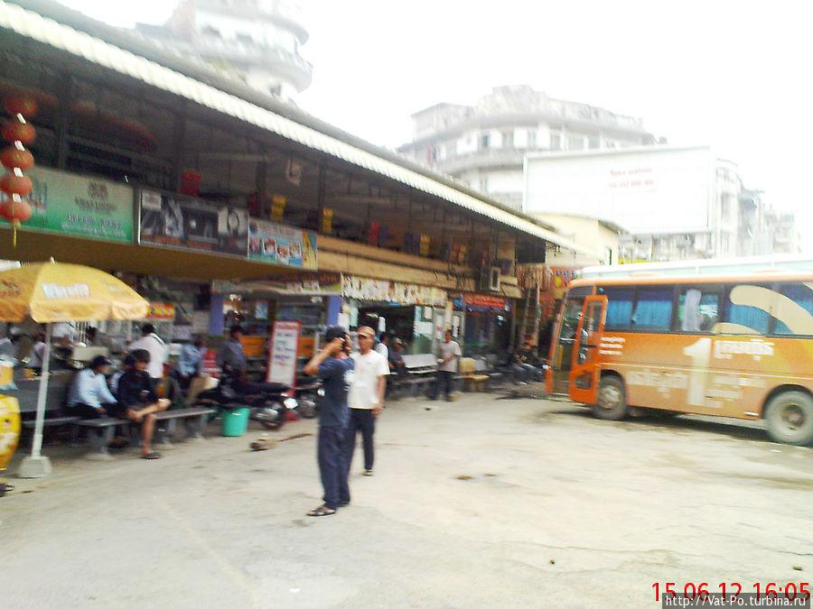Автостанция в Пном-Пене