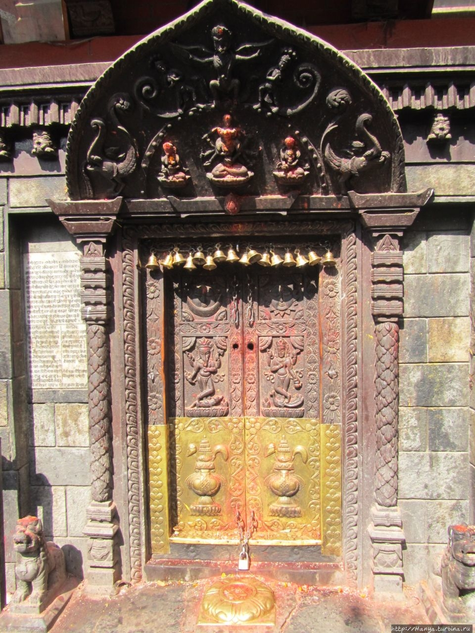Храм Harati Mata, богине