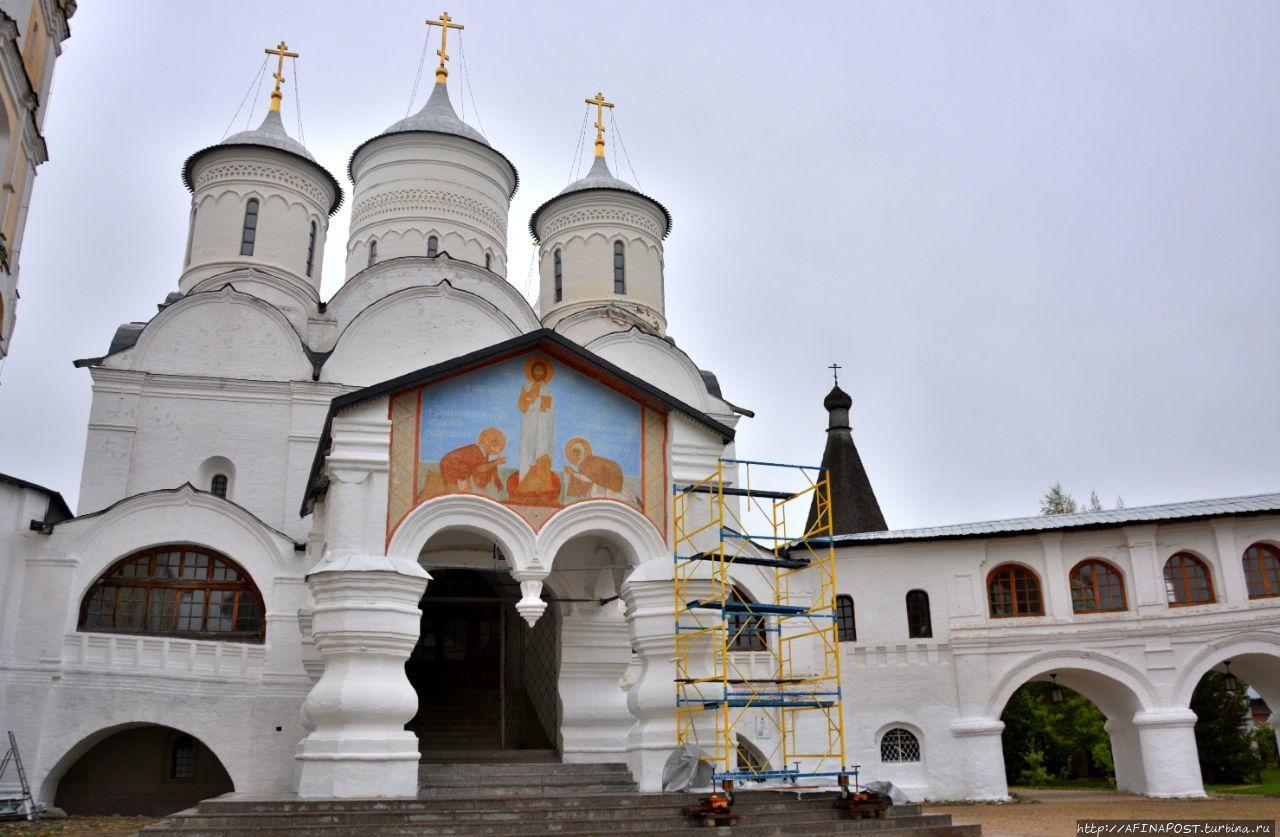 Спасо-Прилуцкий Димитриев монастырь Вологда, Россия