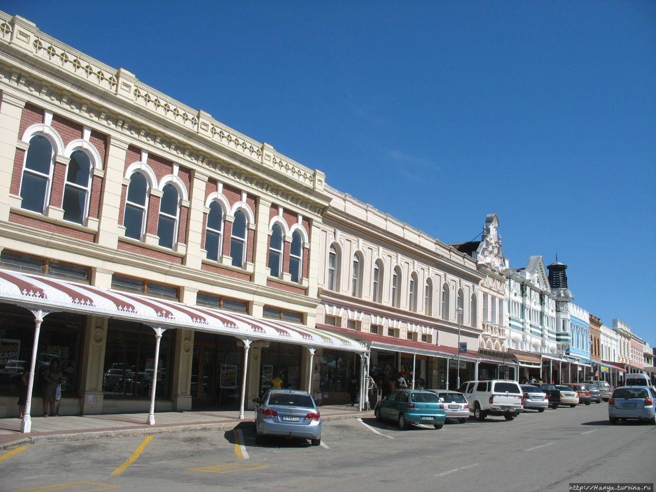 Улица Хай-стрит и ее здания Грэхэмстаун, ЮАР