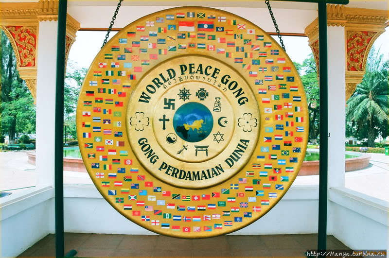 Гонг мира. Фото из интерн