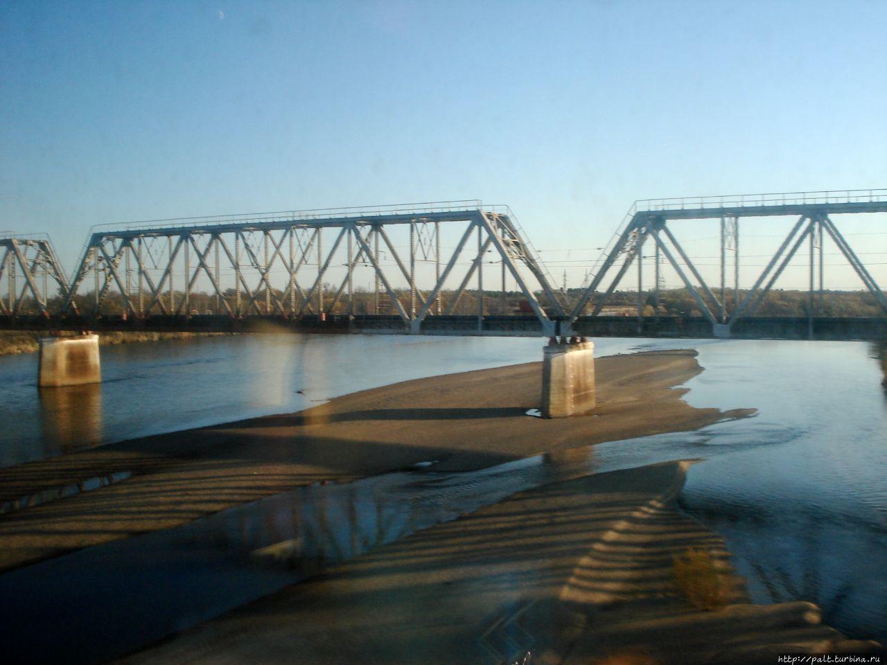 Мост через реку Архара