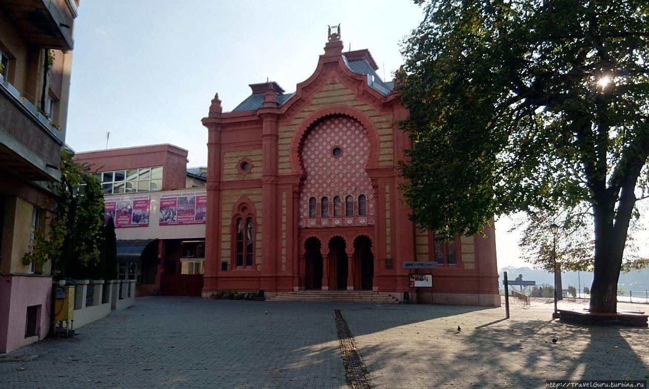 Бывшая синагога, а ныне ф