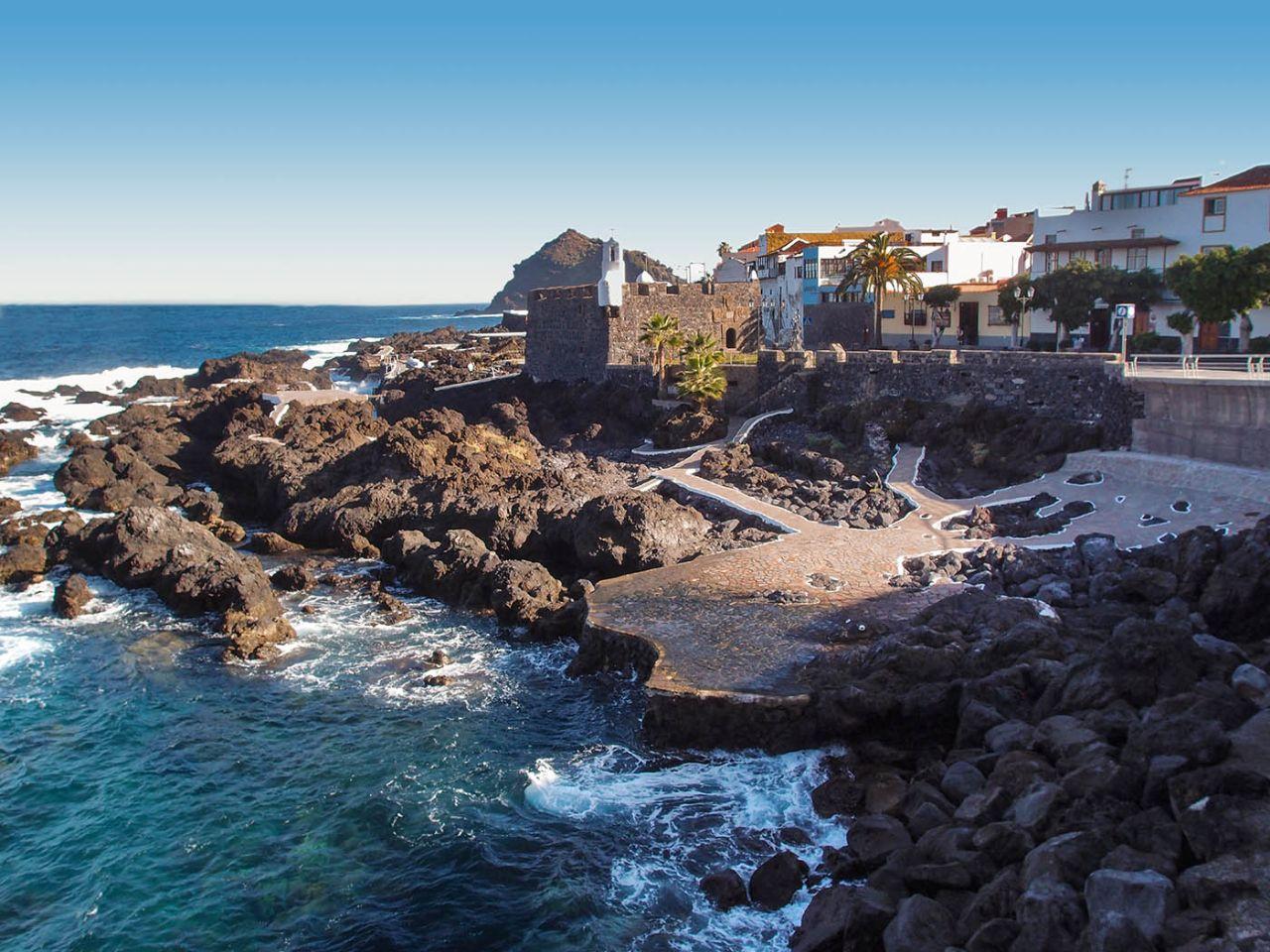 Участь Гарачи́ко Гарачико, остров Тенерифе, Испания