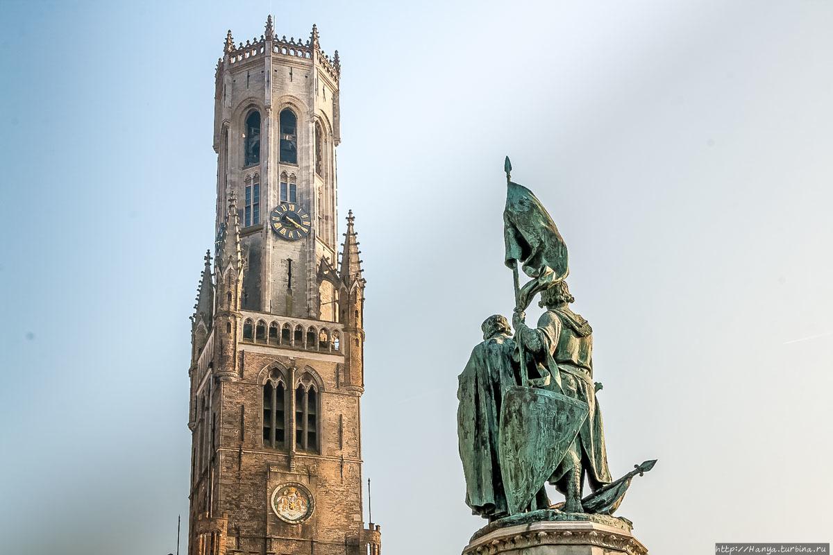 Длинношеий жираф» Беффруа на Grote Markt в Брюгге. Часть145. Белфорт ... 8adec0385ecef