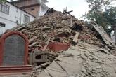 Кришна Мандир после землетрясения 2011 года. Из интернета