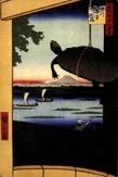 Фукагава Маннэбаси, автор — Андо Хиросиге. Фото из интернета.